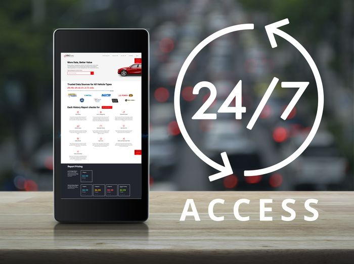 24/7 Access To All Reports